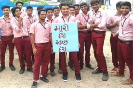 Swatch Bharat Drive 2016 - Dr Nakadar Institute